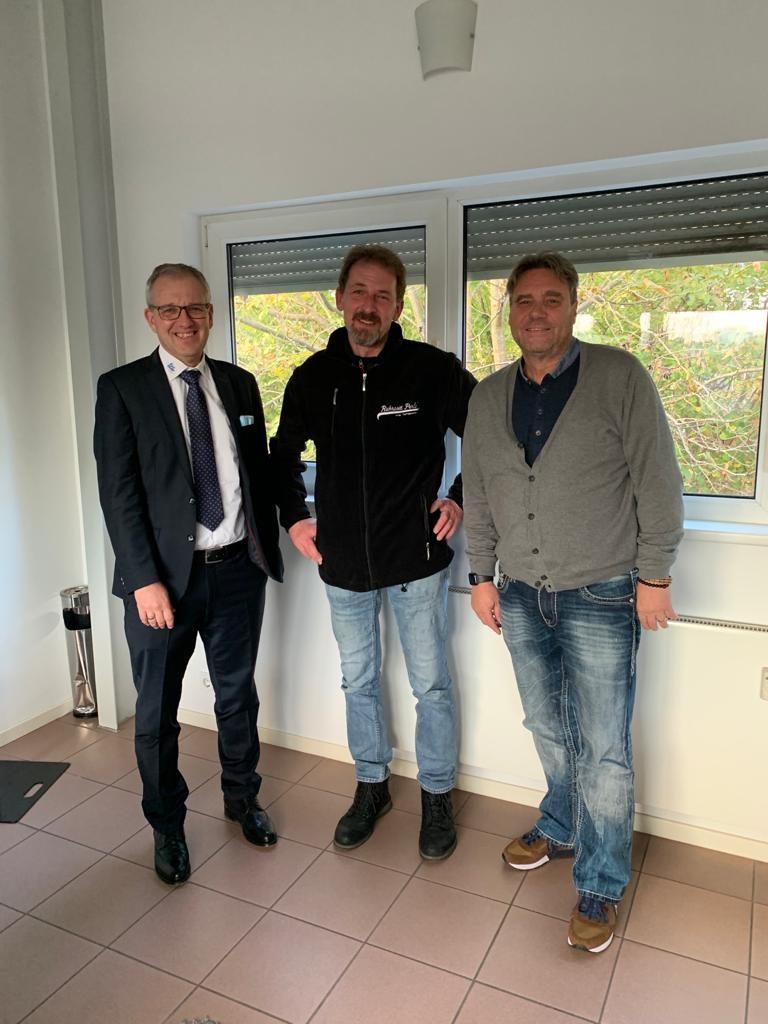 V.l.n.r.: Andreas Trostmann, Torsten Seifert, Oliver Gust