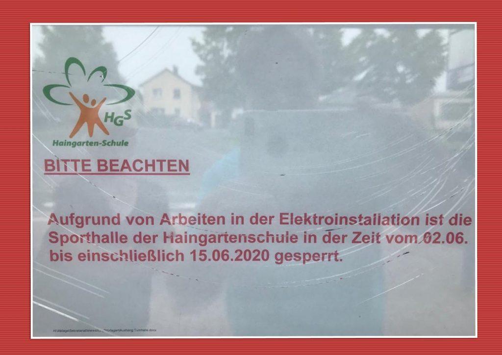 2020-05-22-Hallensperrung-Haingartenschule